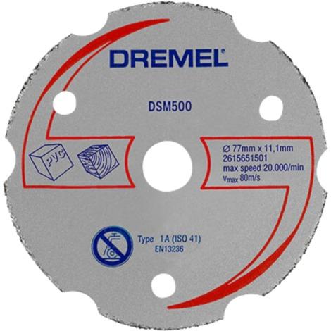 Dremel DSM20 Mehrzweck-Karbidtrennscheibe DSM500, Trennscheibe