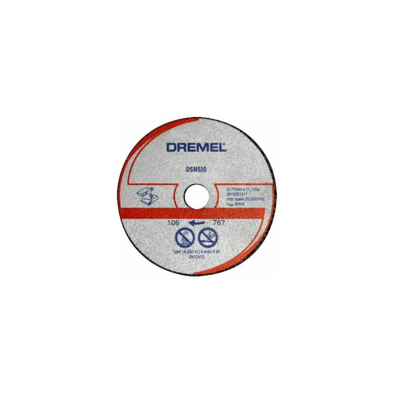 Image of 2615S510JB DSM510 Saw-Max Metal Cutting Wheel 3 Pack - Dremel