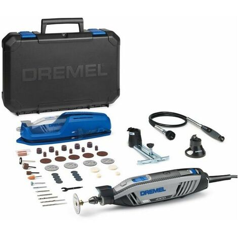 Dremel F0134300JC Multiherramienta 4300 JC 175W 5000-35000rpm Punta EZ TWIST 45 Accesorios. 3 Complementos. Maletín