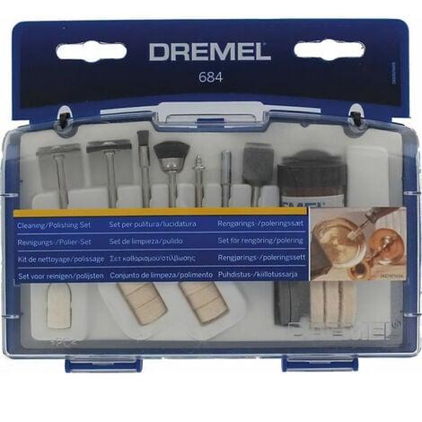 DREMEL Kit nettoyage/polissage de 20 pieces 684