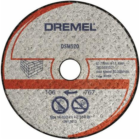 DREMEL Lot de 2 Disques pour Scie Compacte Dremel DSM20