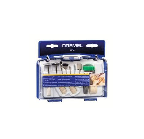 DREMEL Multi Power Tool Accessories 684 Cleaning & Polishing Set 26150684JA
