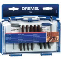 DREMEL Multi Power Tool Accessories 688 Rotary Cutting Cut-Off Kit 26150688JA