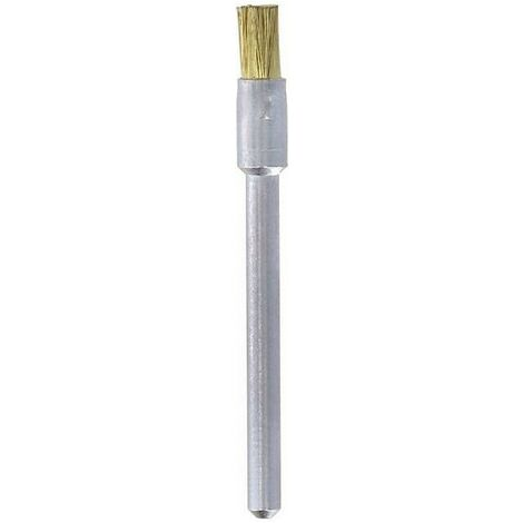 DREMEL Multi Tool Accessories 537 3 x 3.2mm End Shape Brass Brush MULTIPACK x3