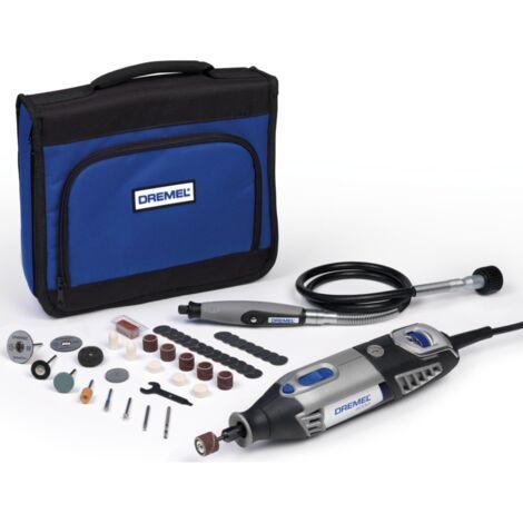 Dremel Multifunktions-Werkzeug-Set 4000-1/45, schwarz/grau, Softbag, 175 Watt