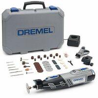 DREMEL Multifunktionswerkzeug mit Akku, Beleuchtet, Maximale Leistung, 8220 (8220-2/45) - F0138220JF