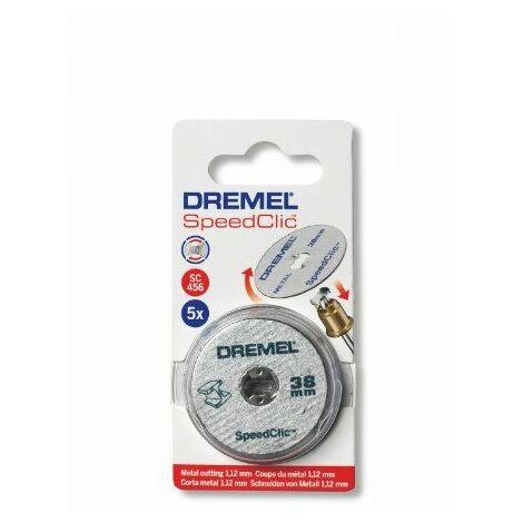 Dremel S409 5 Disques EZ speedclic métaux 38 mm