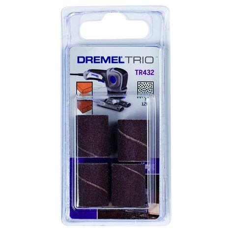 DREMEL TRIO TR432 - CILINDRI ABRASIVI GRANA P120 PEZZI 4
