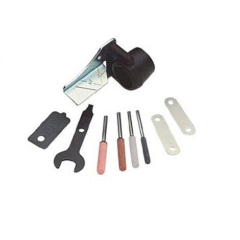DE Zubehörsatz zum Schärfen von Kettensägen Motorsäge Kettensäge Dremel Werkzeug