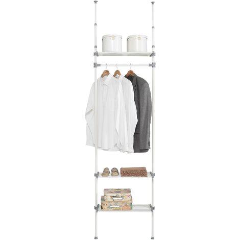 Dressing 3 étagères métal-ABS-polypropylène