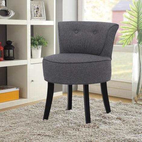 Dressing Table Chair Stool Line Grey Chair Bedroom Vanity Makeup Stool