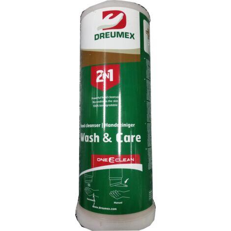 DREUMEX - Savon pâteux sans solvant à microbilles, 3 litres 2 en 1 Dreumex Wash & Care - 11630001004