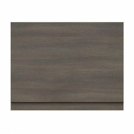 Drift walnut wooden bath end panel 750mm