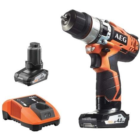 Drill AEG 12V - 2 batteries 4.0Ah - 1 charger - BSB12C2LI-KIT2