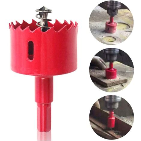 """main image of """"Drill Bit Sets Gypsum Board M42 Woodworking Stable Opener Chip Release Drill Hole Metal Pipe Tool Hole Saw Bi-Metal Cutter Accessories-China_22Mm"""""""