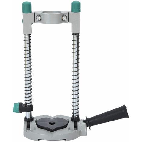 Drill Guide Perceuse Electrique Presse Support 45 ¡ã Reglable Mobile Pivotant De Travail Outil
