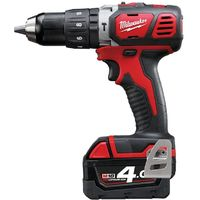 Drill Percussion Milwaukee M18 BPD-402C - 2 Batteries 18V Li-Ion 4.0Ah - 1 Charger 4933443520