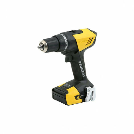 Drill PEUGEOT ENERGYDRILL-14V15 - 2 batteries 14.4V 1.5 Ah - 1 charger 250310
