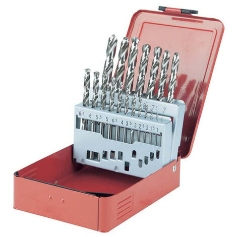 Drill set KS TOOLS - 19 pcs - 330.2610