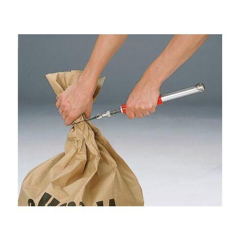 Drillapparat - für Kunststoff- und Papiersack - für Drahtschlinge Abfallsack