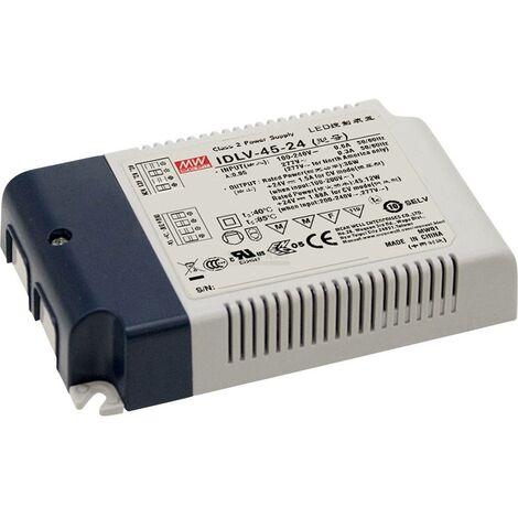 Driver de LED à tension constante Mean Well IDLV-45-12 36 W 3 A 12 V/DC 1 pc(s)