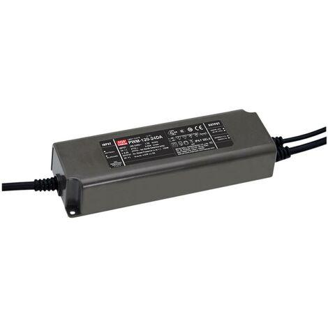 Driver de LED à tension constante Mean Well PWM-120-24DA PWM-120-24DA 120 W 5 A 24 V/DC 1 pc(s)