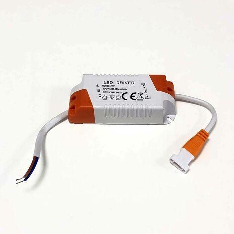 Driver de sustitución para placa downlight LED 20W de diámetro ajustable - No regulable