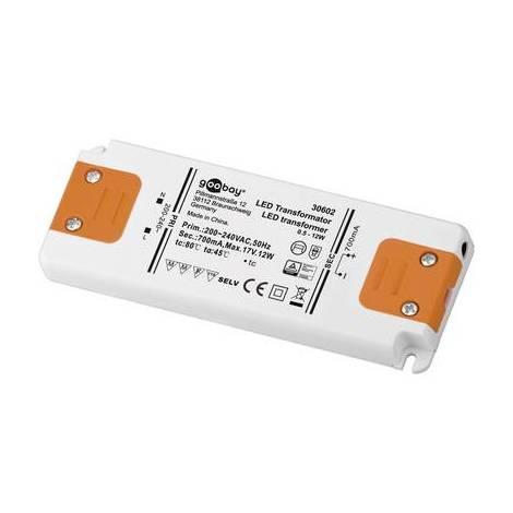 Driver LED Goobay 30602 12 W 0 - 17 V/DC 700 mA Courant constant