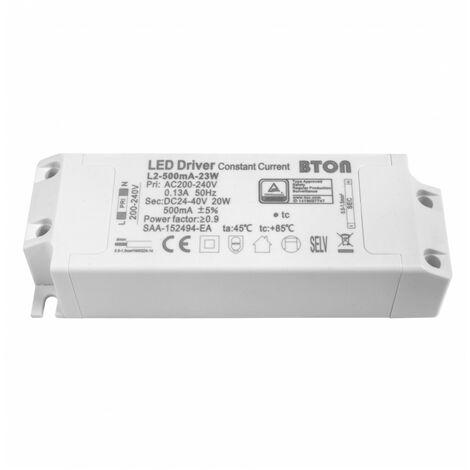 - Driver LED non dimmable pour encastrable - 18W - 500mA