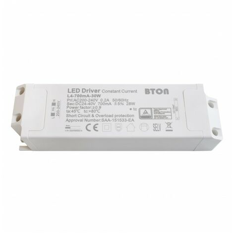 - Driver LED non dimmable pour encastrable - 25W - 700mA
