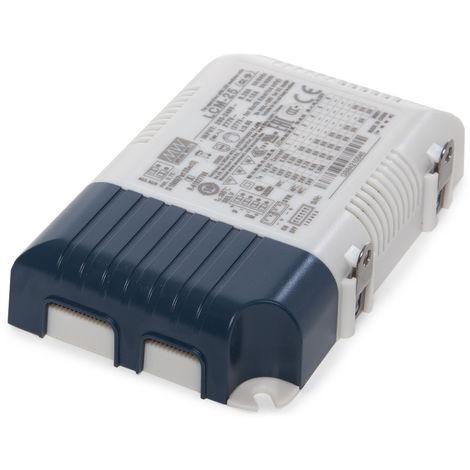 Driver Meanwell downlights 25W regulación 0-10V IP20 (OL-LCM-25)