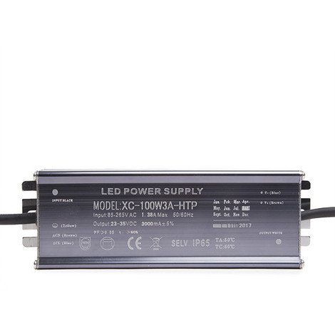 Driver No Dimable Foco Proyector LED 100W (DR-PR-ND-100W)