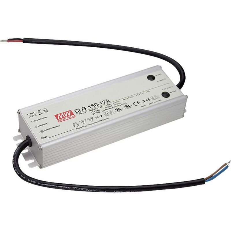 CLG-150-24A Driver per LED, Trasformatore per LED Tensione costante, Corrente costante 151.2 W 0 - 6.3 A 24 V - Mean Well