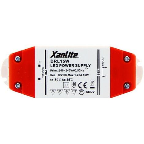 Driver pour ampoule LED GU5.3 et G4, puissance 15W | Xanlite