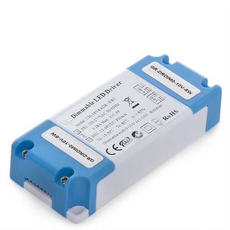 Driver Regulable 0-10V Plafón / Placa /Downlight LED 6W (GR-DRDIM0-10V-6W)