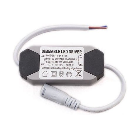 Driver Regulable para downlight LED 15-24w