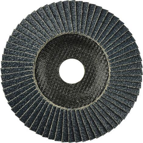 DRONCO 5242306100 - Disco de láminas abrasivo zirconio ZIRCON PLUS (G-AZ) de 125 mm grano 60 y base abombada