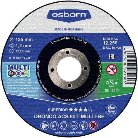 """main image of """"Dronco - Pack de discos de corte ACS 60 T Multi Special"""""""