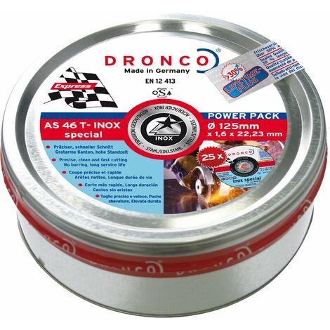 "main image of ""Dronco - Pack de discos de corte AS 60 T INOX Special Express LIFETIME PLUS"""