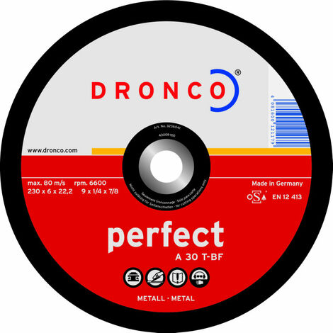 Dronco - Disco de corte A 30 T Perfect-metal