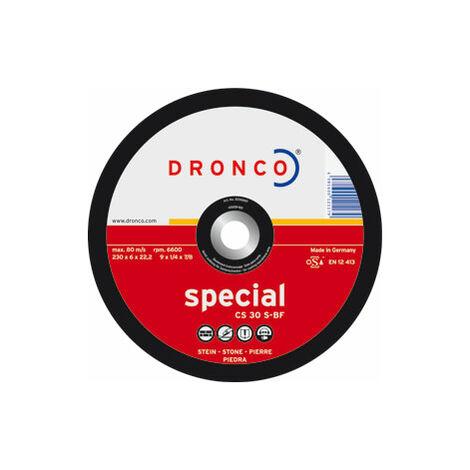 Dronco - Disco de corte CS 30 S Special-piedra