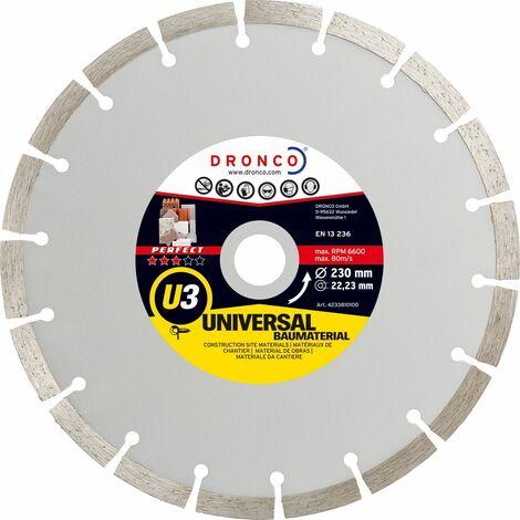 Dronco - Disco de diamante Perfect U3 - Universal obra (Antes ST)