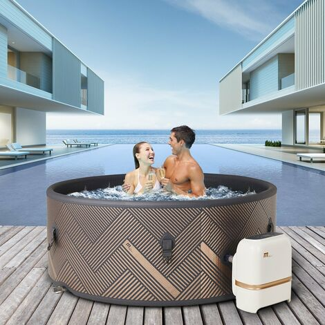 Drop-Stitch DWF Whirlpool MSPA MONO 6 Personen Outdoor Indoor Massage Pool 2021