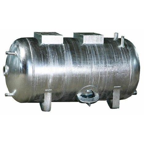 Extrem Druckbehälter 100 bis 300L 6 bar liegend Druckkessel verzinkt für RT38