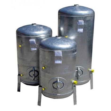 Beliebt Druckbehälter 100L bis 300L 9 bar senkrecht verzinkt Druckkessel VD49