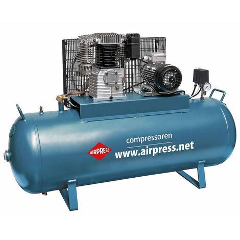 Druckluft-Kompressor 4 PS / 300 Liter / Arbeitsdruck 12 bar max.15 bar Druck-Luft Kompressor Kolbenkompressor