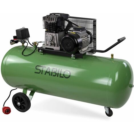 Druckluft Kompressor Kolbenkompressor 200l 10 bar Druckluftkompressor 400V