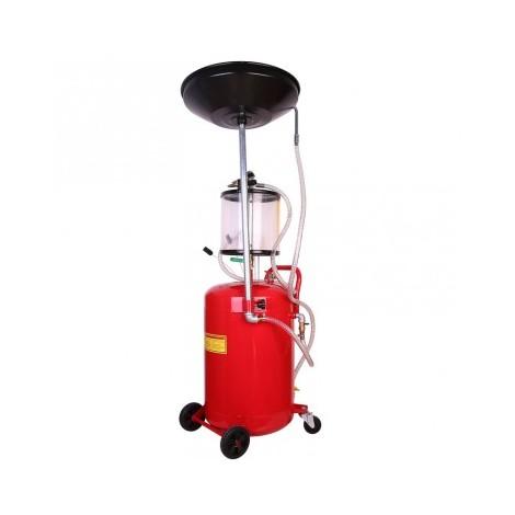 Druckluft Ölabsauggerät Ölabsauger Ölauffanggerät Ölwechsel Ölbehälter 68L
