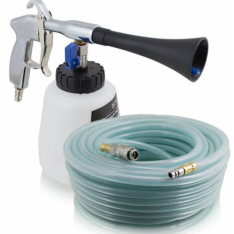 Druckluft Reinigungspistole Twister Cleaning Gun mit 10m PVC Schlauch