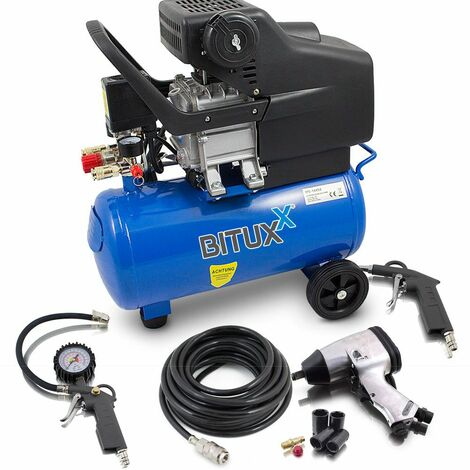 Kompressor Mit Zubehör : druckluftkompressor 24l kompressor mit 8 tlg druckluft ~ Watch28wear.com Haus und Dekorationen